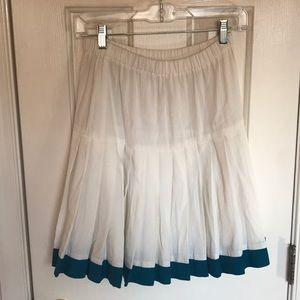 Vintage pleated pencil skirt